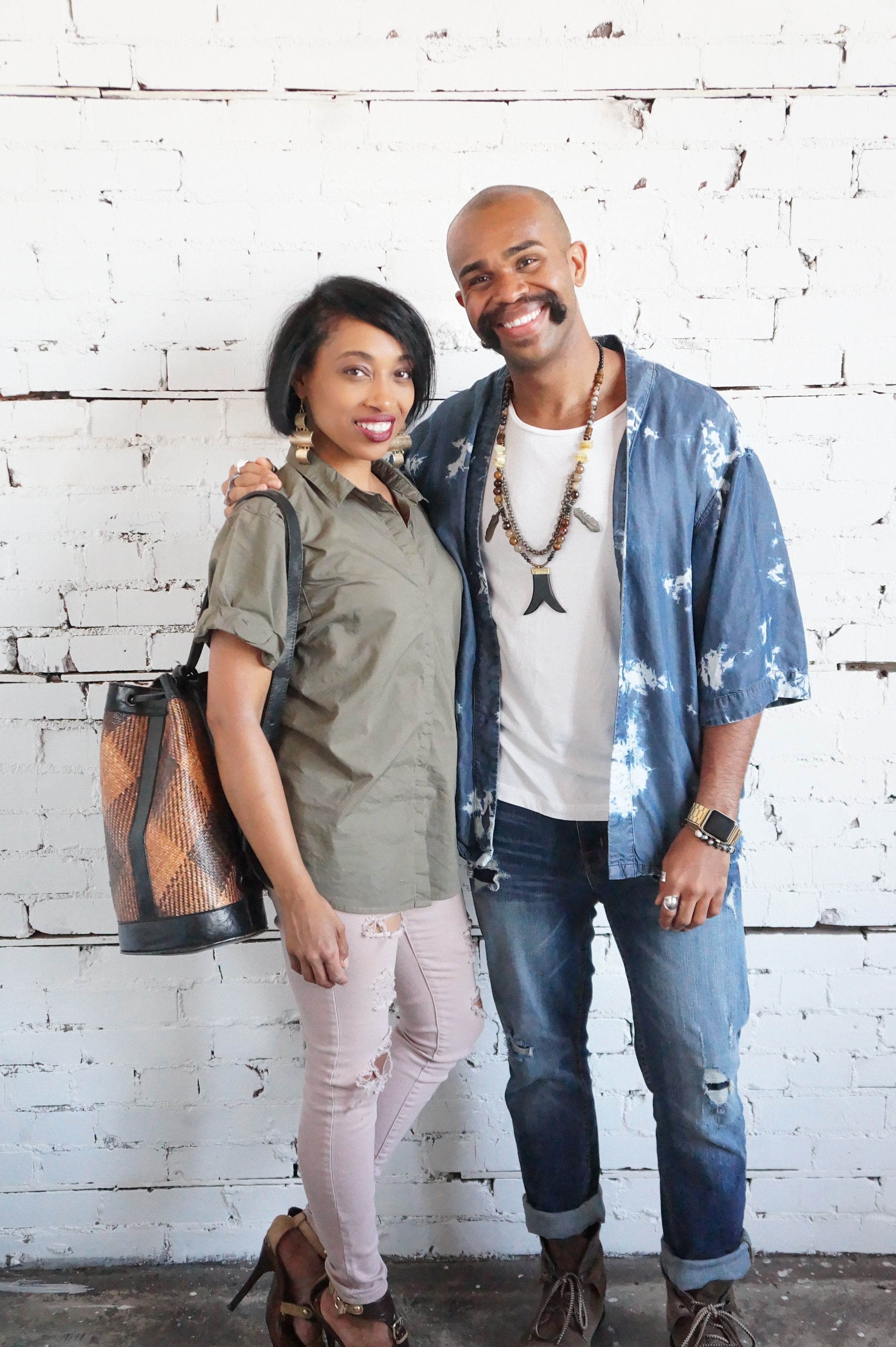 Andrea Fenise Memphis Fashion Blogger features Style in the City IVJD Studio