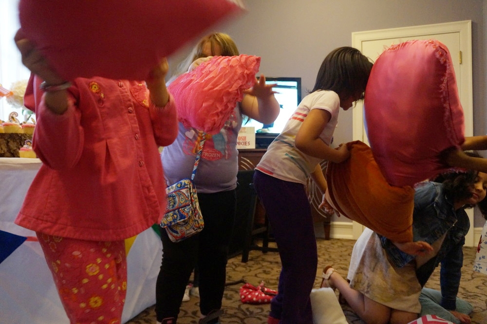 Andrea Fenise Memphis Fashion Blogger shares sleepover tips for parents