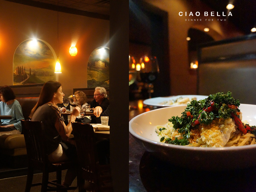 Andrea Fenise Memphis Fashion Blogger shares Ciao Bella Food Review