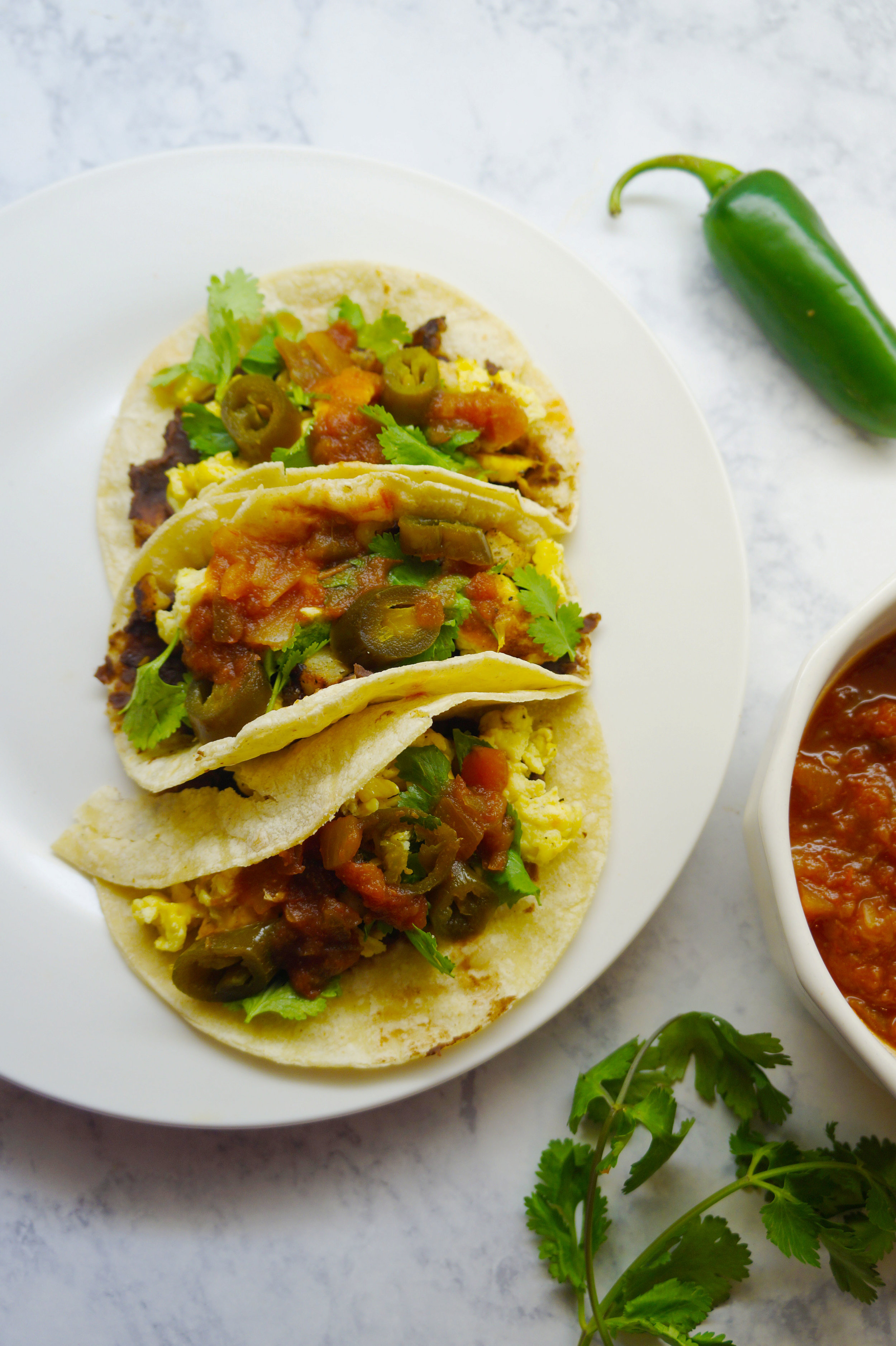 Andrea Fenise Memphis Fashion and Memphis Food Blogger shares a breakfast taco recipe