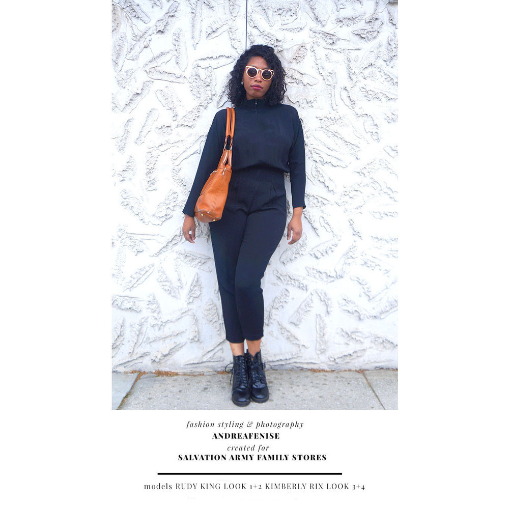 Andrea Fenise Memphis Fashion Blogger shares best of 2017 with Salvation Army