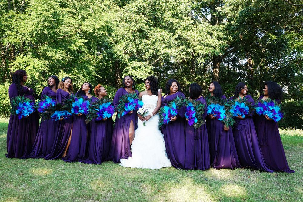 Andrea Fenise Memphis Fashion Blogger shares bridesmaid party