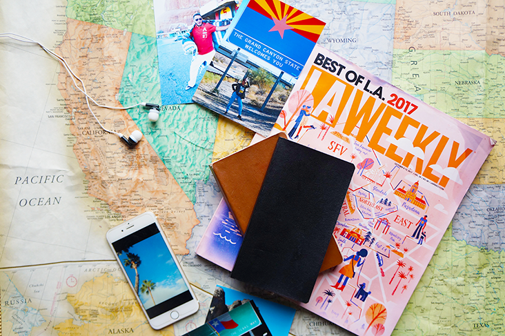 Andrea Fenise Memphis Fashion Blogger shares a road trip back from Los Angeles