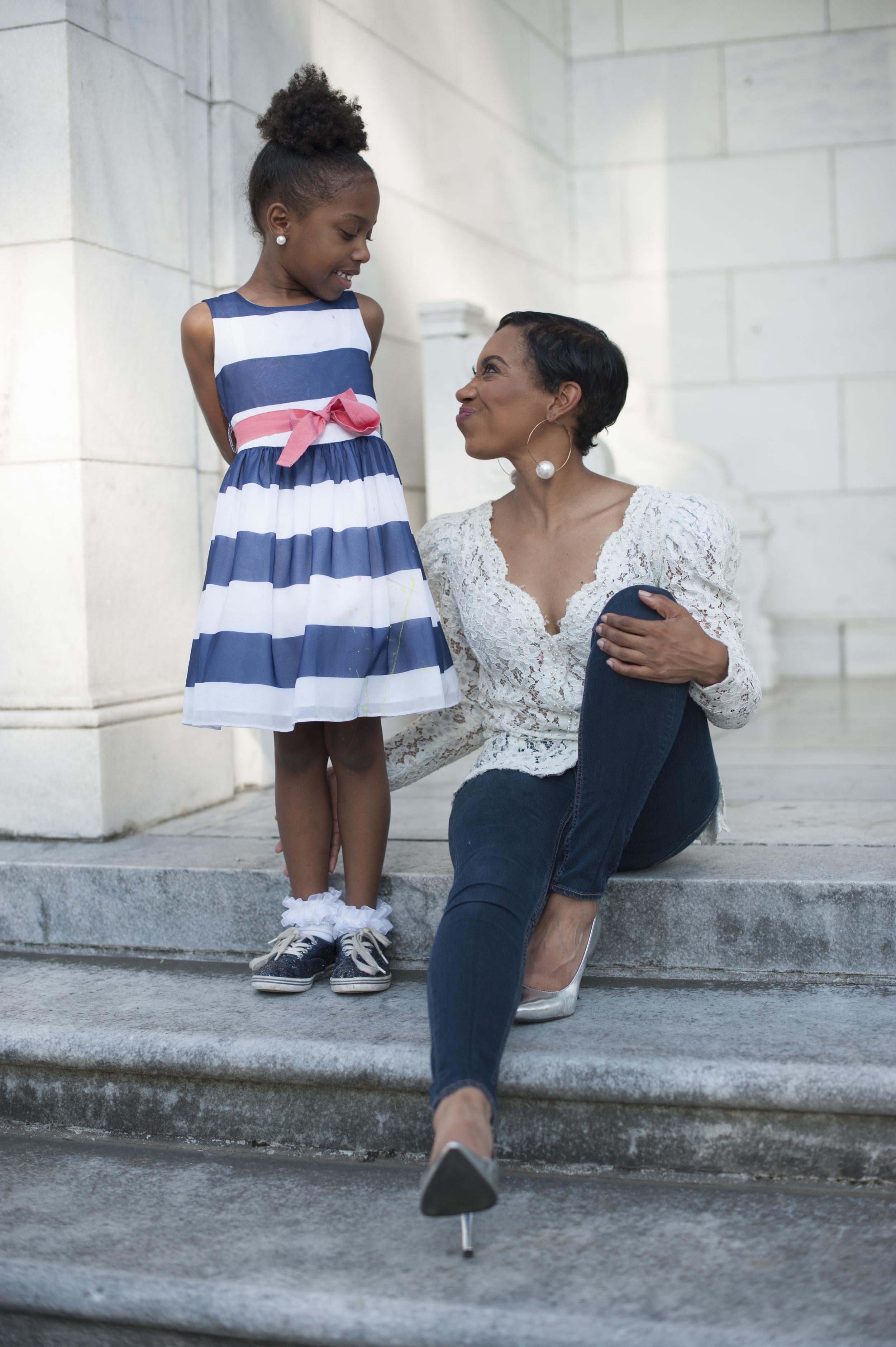 Andrea Fenise Memphis Fashion Blogger shares motherhood stories