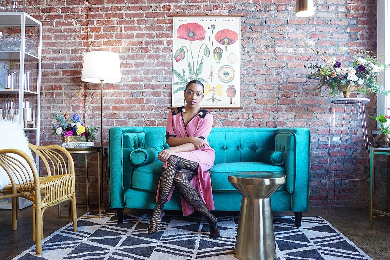 Andrea Fenise Memphis Fashion Blogger shares Everbloom Design Feature