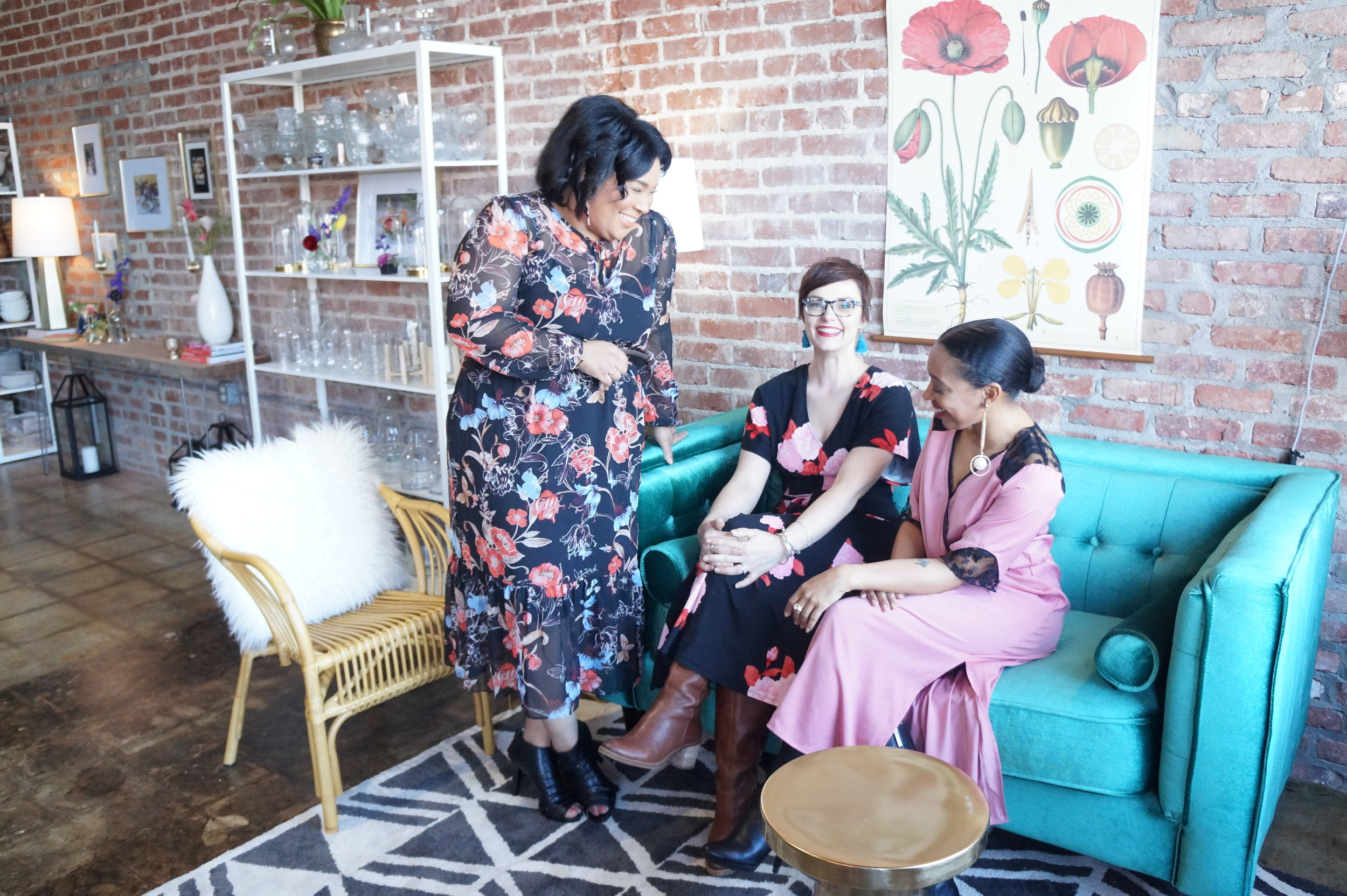 Andrea Fenise Memphis Fashion Blogger shares Everbloom Design Opening on Broad Street Memphis