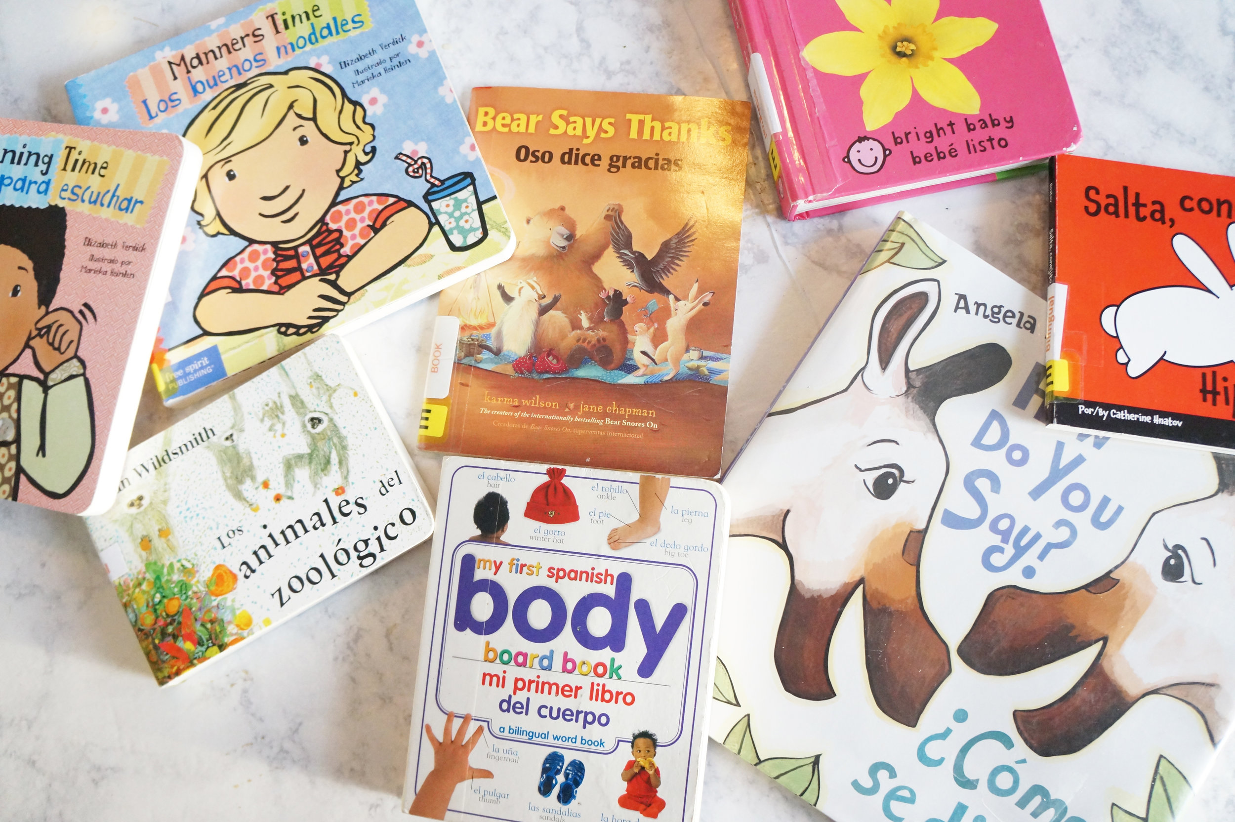 Andrea Fenise Memphis Fashion Blogger shares how she began to learn spanish by reading children's bilingual books