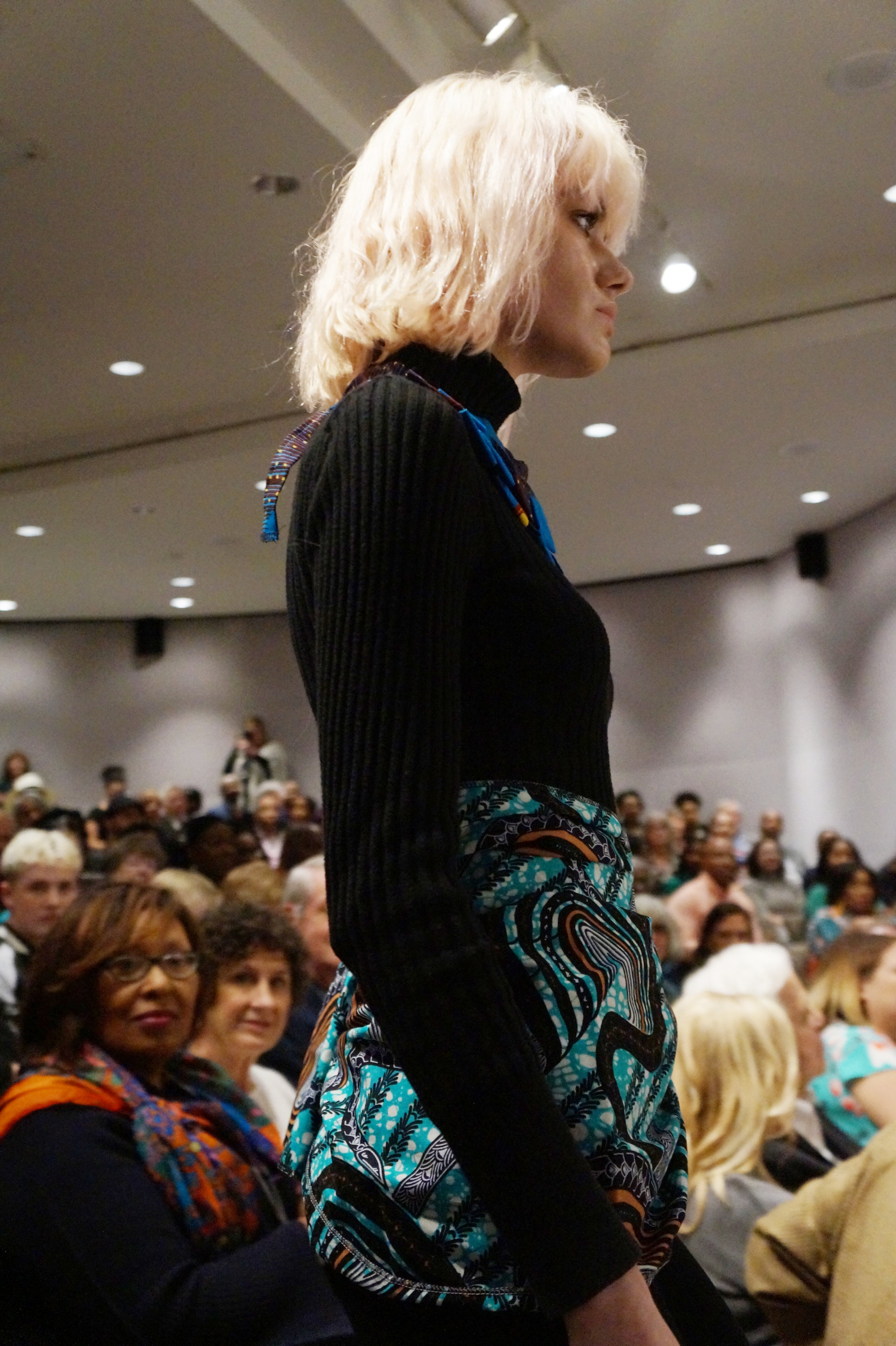 Andrea Fenise Memphis Fashion Blogger shares Style in the CIty: African Print Fashion Now at the Brooks Museum