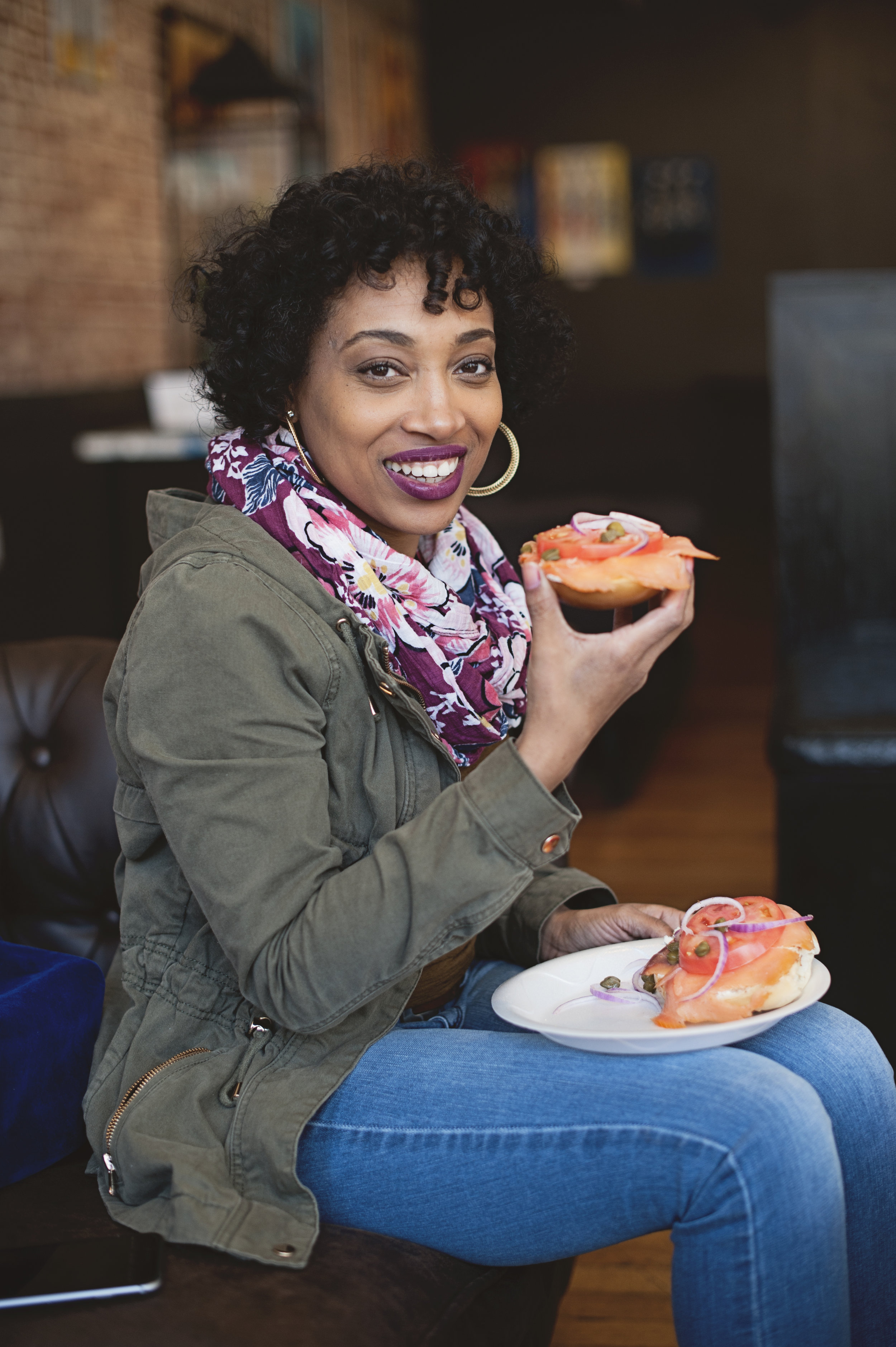 Andrea Fenise Memphis Fashion Blogger and Memphis Food Blogger shares South Main Market Feature