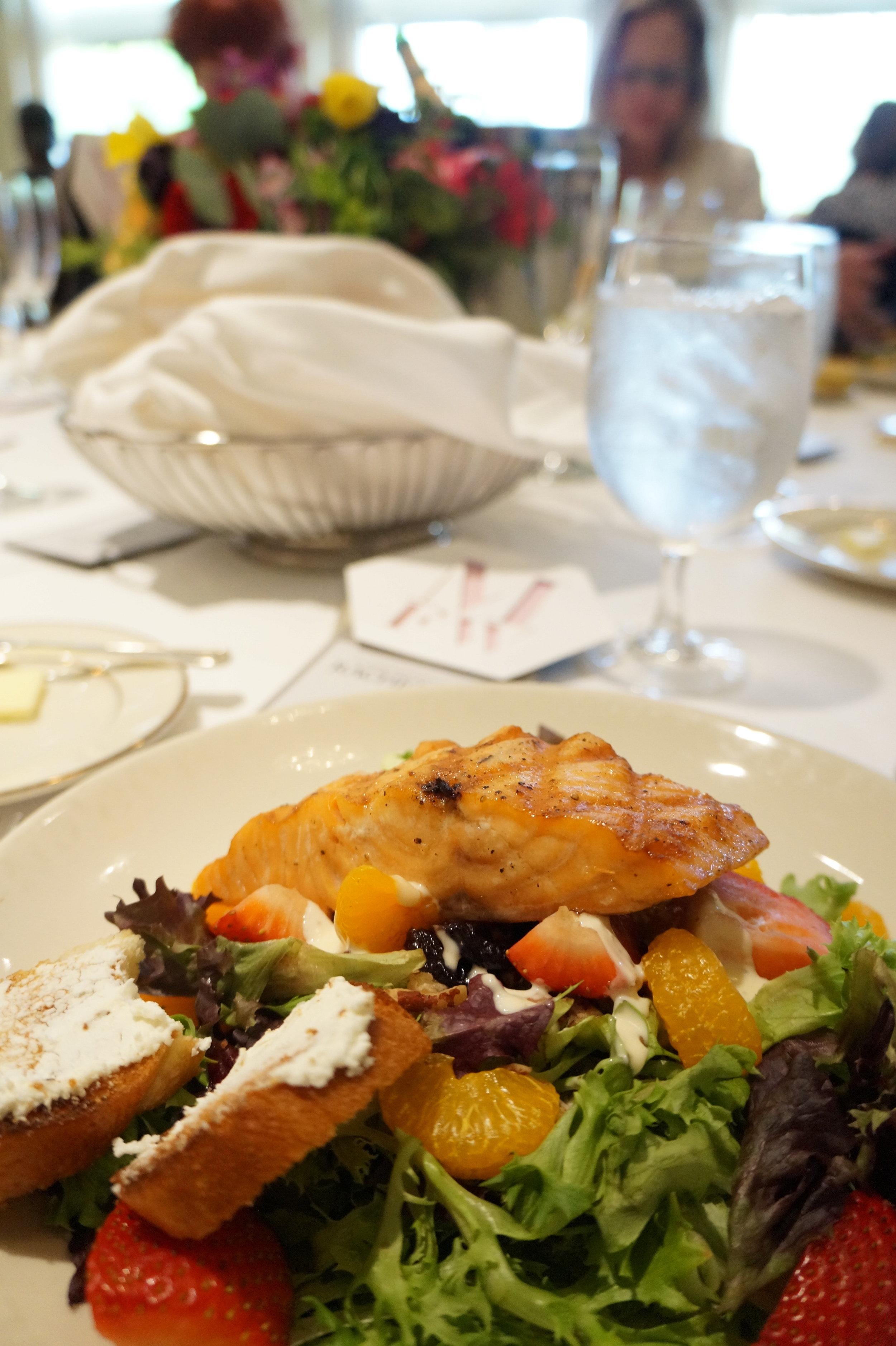 Andrea Fenise Memphis Fashion Blogger shares #memphisfashionweek headliner luncheon with Rachel Roy