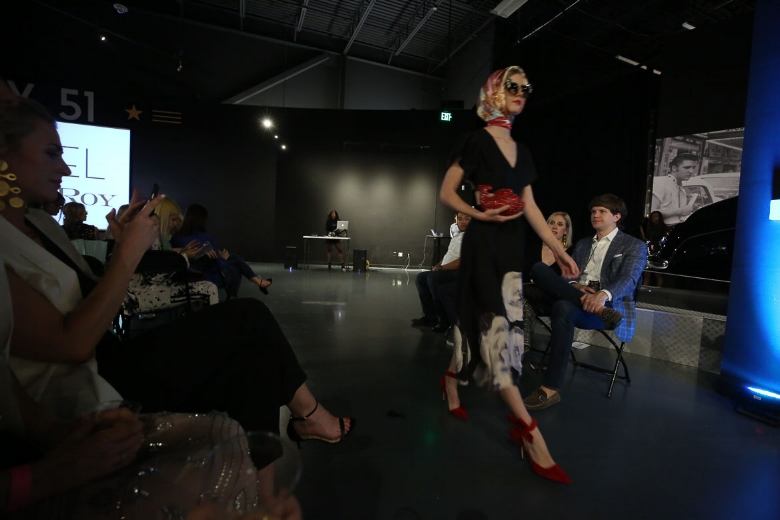 Andrea Fenise Memphis Fashion Blogger shares Memphis Fashion Week show at Graceland