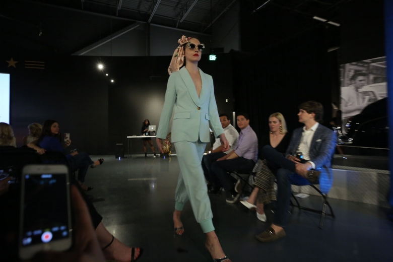 Andrea Fenise Memphis Fashion Blogger shares Memphis Fashion Week Graceland Show with Rachel Roy