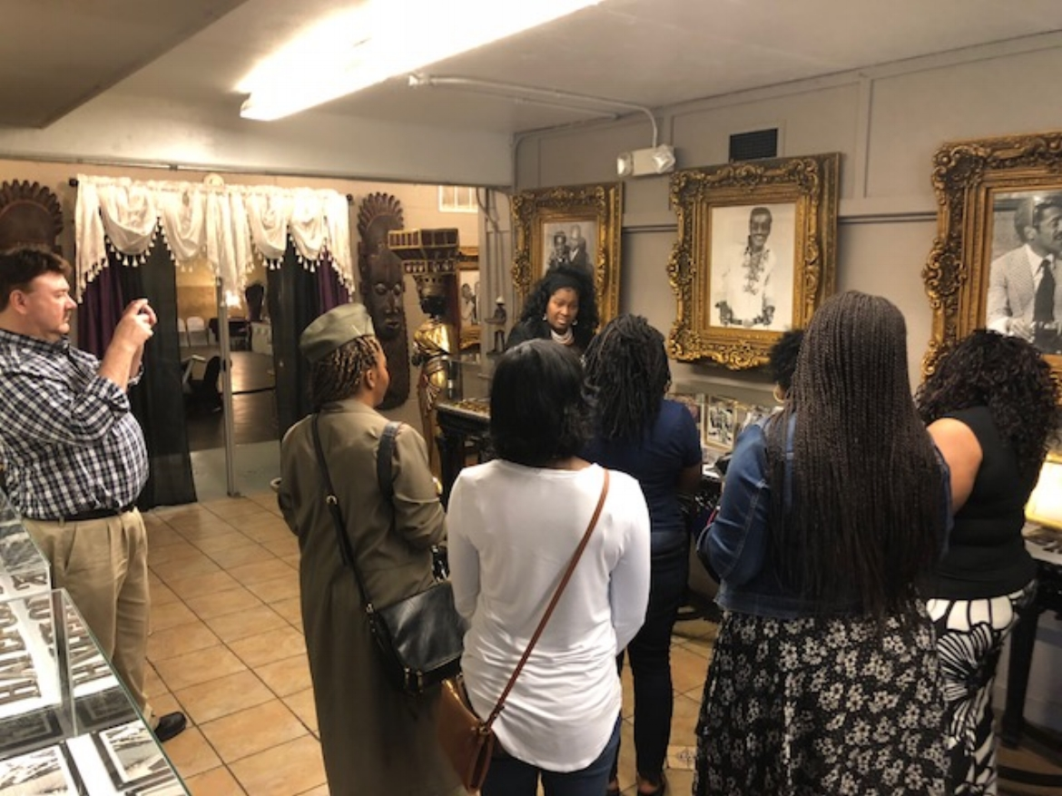 Andrea Fenise Memphis Fashion Blogger Steeped in History Toyota Tour