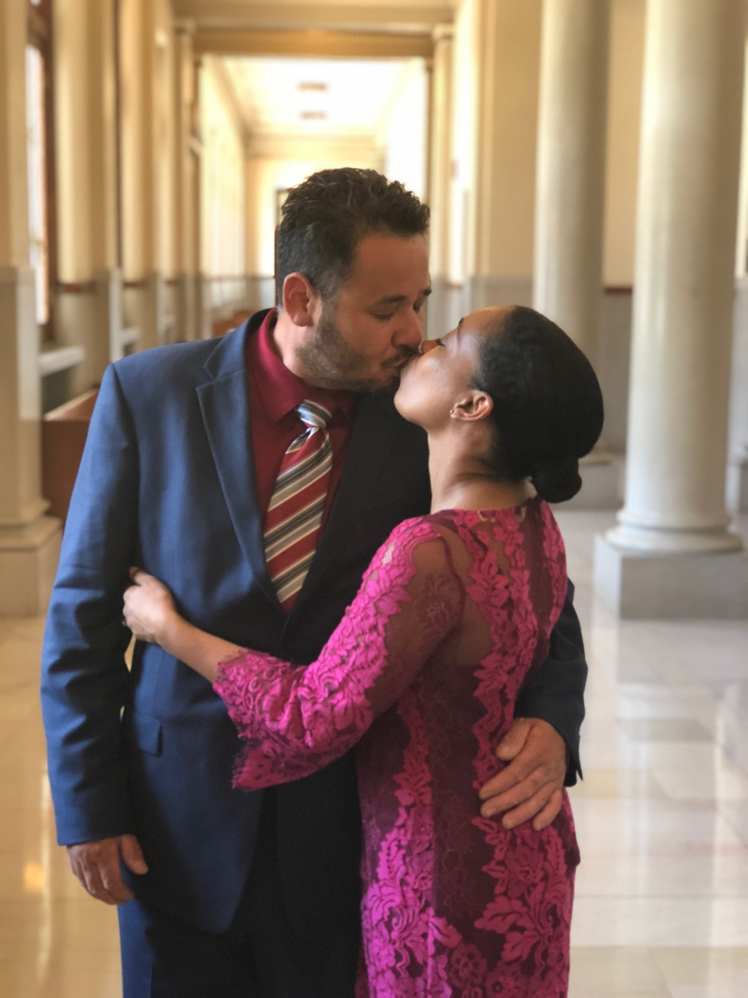 Andrea Fenise Memphis Fashion Blogger shares why she decided to have a court wedding