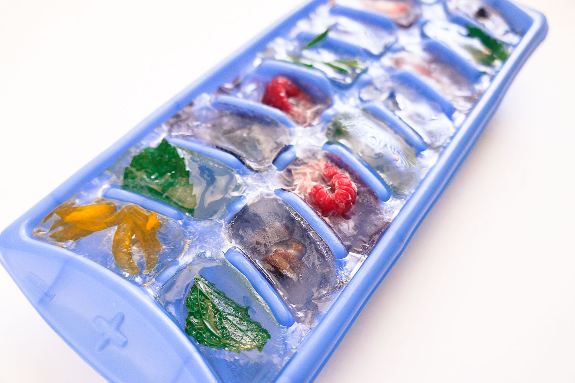 Andrea Fenise Memphis Fashion Blogger shares how to make floral ice cubes