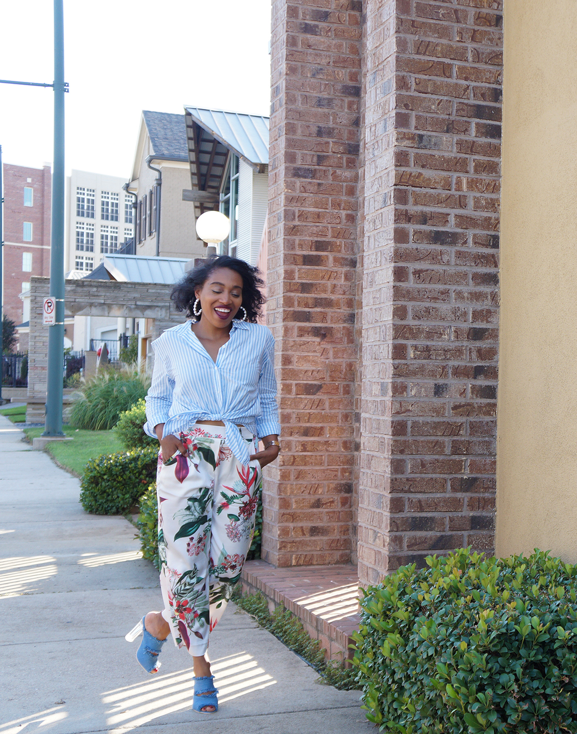 Andrea Fenise Memphis Fashion Blogger shares summers end style story about change