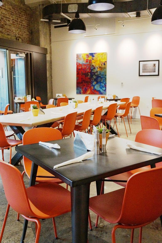 Andrea Fenise Memphis Fashion Blogger and Memphis Food Blogger visits Memphis new restaurant Global Cafe