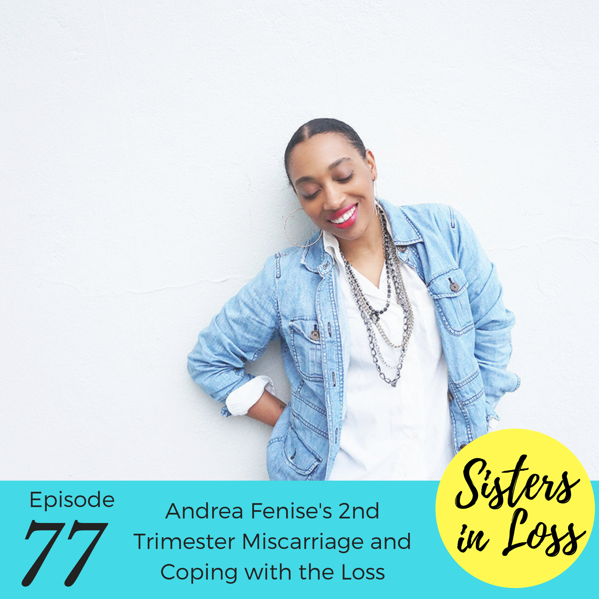 Andrea Fenise Memphis Fashion Blogger shares Miscarriage Story and Journey with Sisters in Loss Podcast