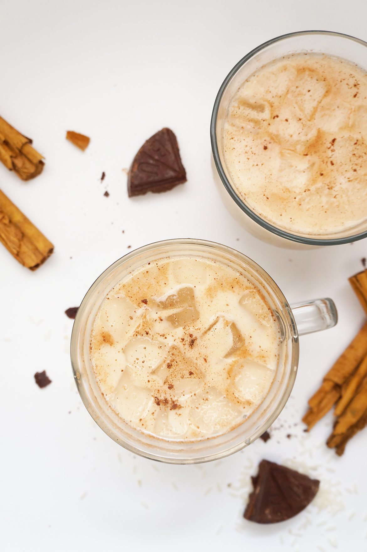 Andrea Fenise Memphis Fashion Blogger and Memphis Food Blogger shares how to make horchata