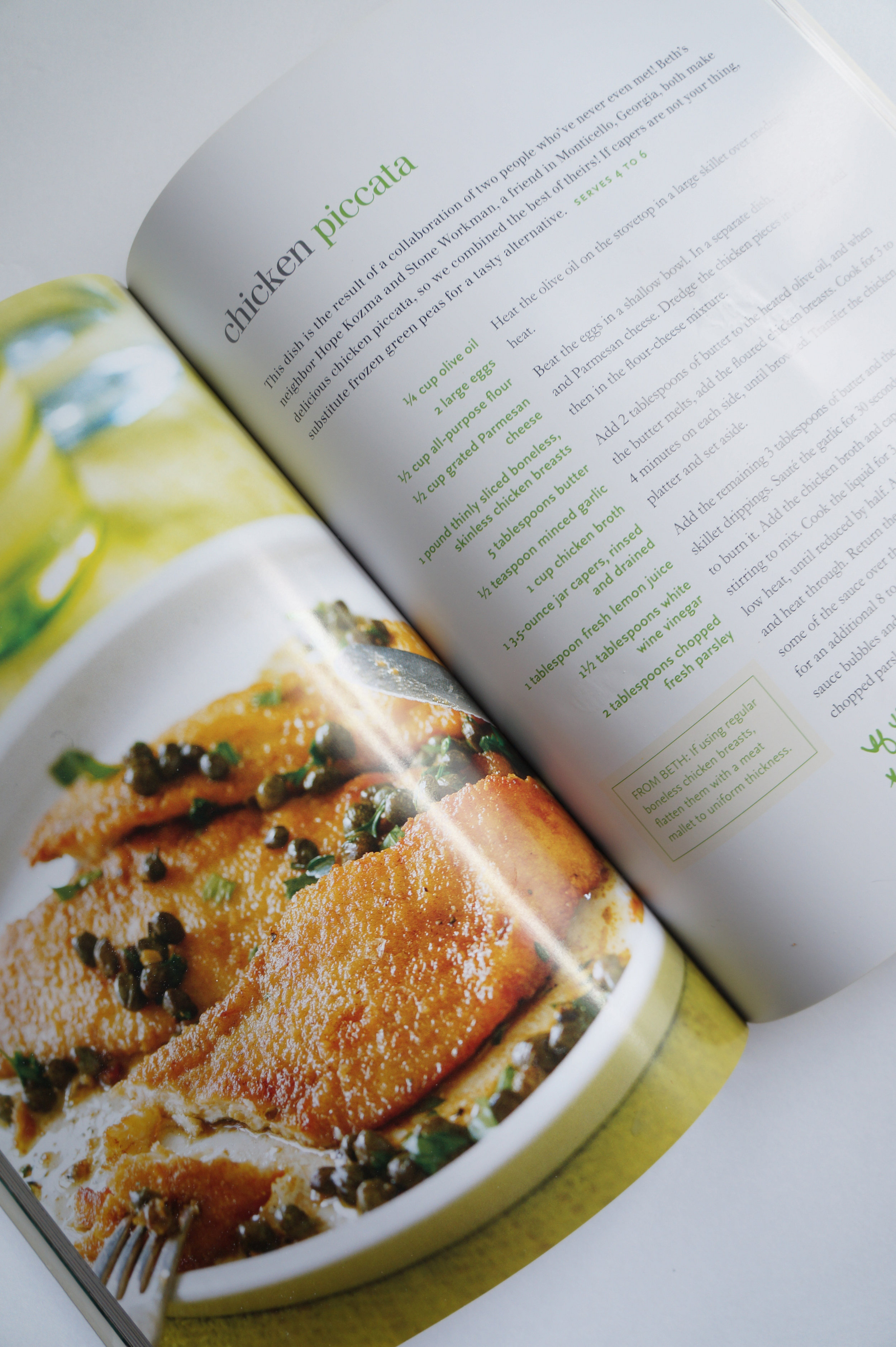 Andrea Fenise Memphis Fashion Blogger and Memphis Food Blogger shares a cookbook review of Trisha Yearwood's Cookbook