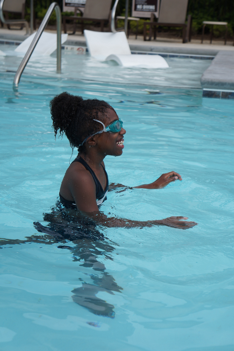 Andrea Fenise Memphis Fashion Blogger and Memphis Mom Blogger shares why it is important for black children to learn how to swim