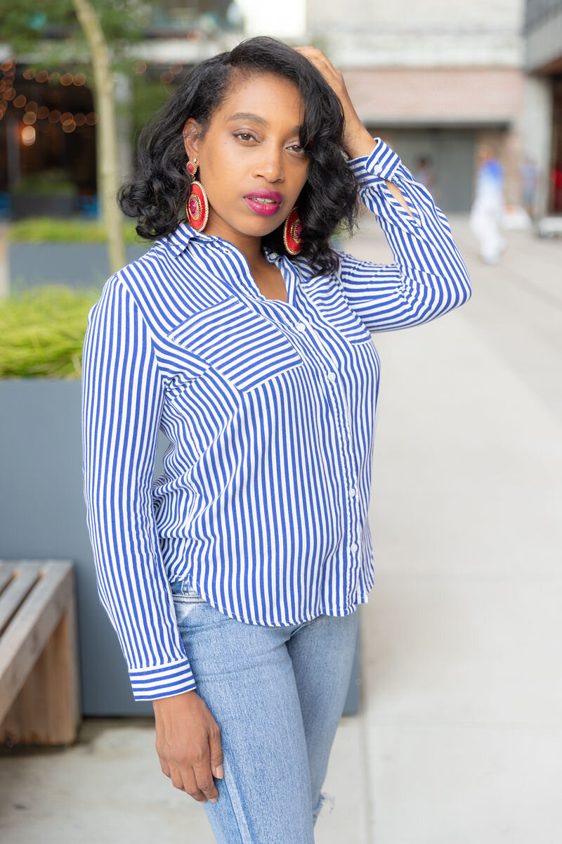 hAndrea Fenise Memphis Fashion Blogger and Memphis Influencer shares mommy style routine