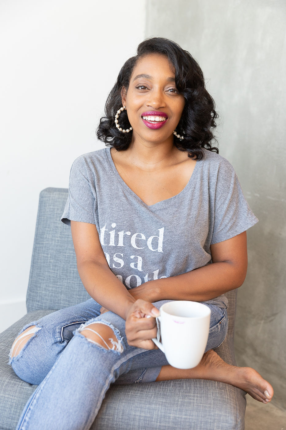 Andrea Fenise Memphis Fashion Blogger and Memphis Influencer shares self care tips for postpartum moms