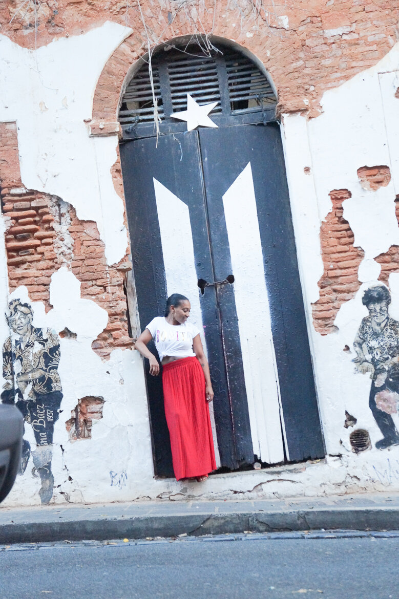 Andrea Fenise Memphis Fashion Blogger and Black Travel Blogger shares a trip to Puerto Rico and things to do