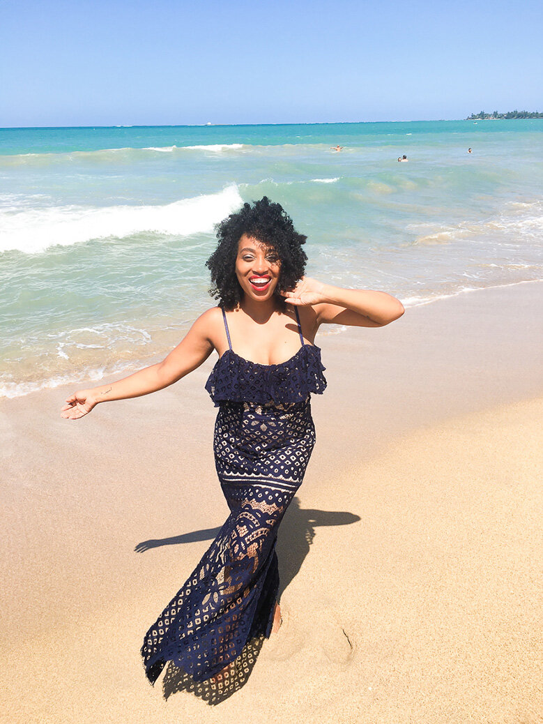 Andrea Fenise Memphis Influencer and Black Travel Blogger shares trip to San Juan