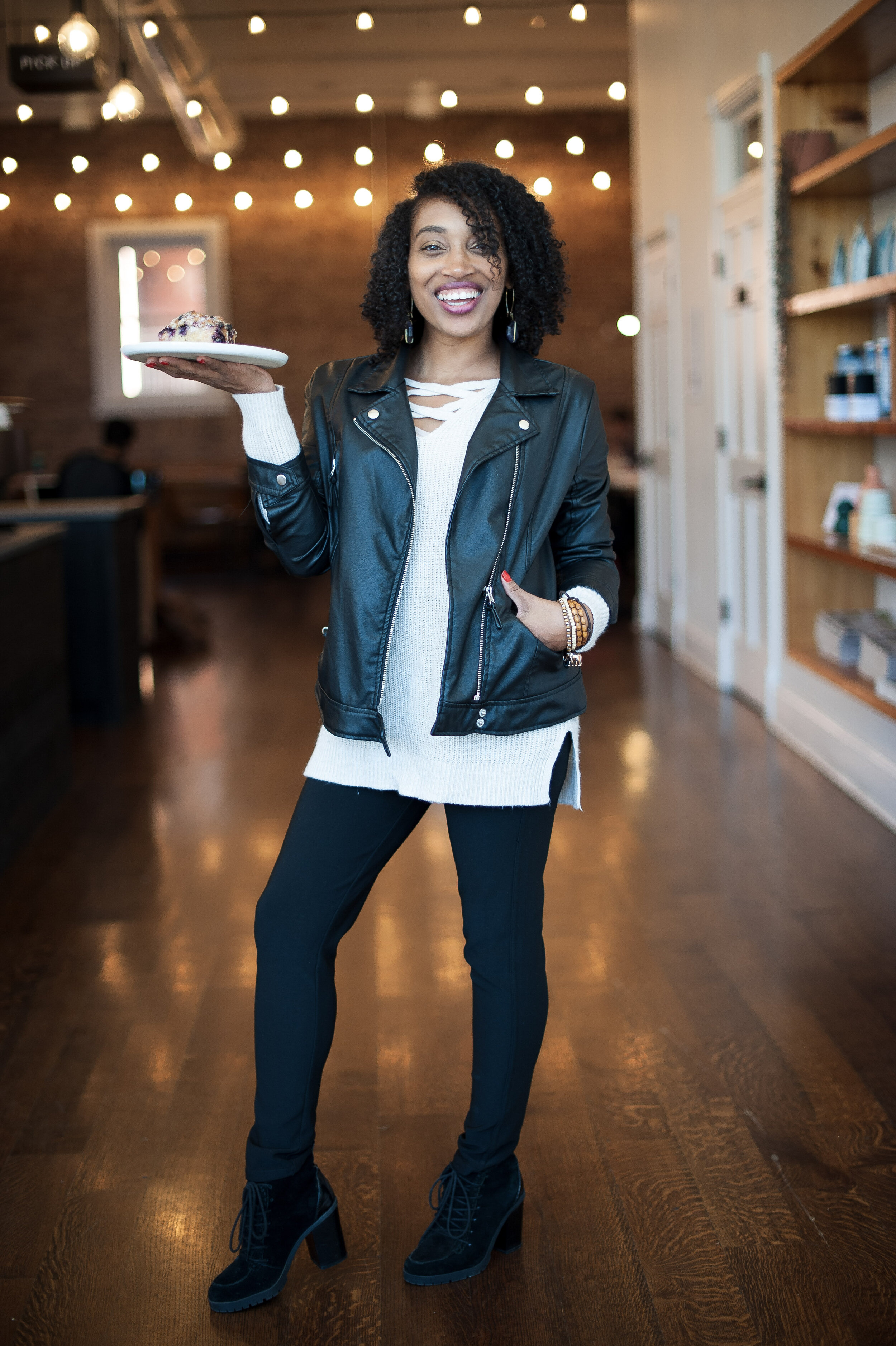 Andrea Fenise Memphis Fashion Blogger and Memphis Food Blogger features Comeback Coffee