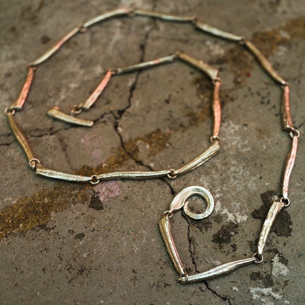 Hookvine Lariat - Sterling Silver