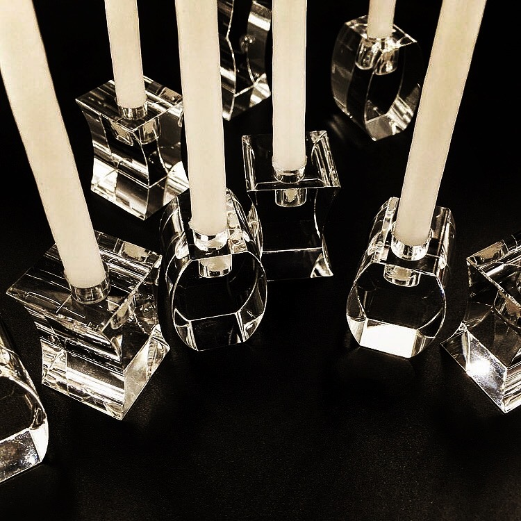 Flexus Menorah - Optical Glass Licensed and sold by M.o.M.A. Design Store since 2001