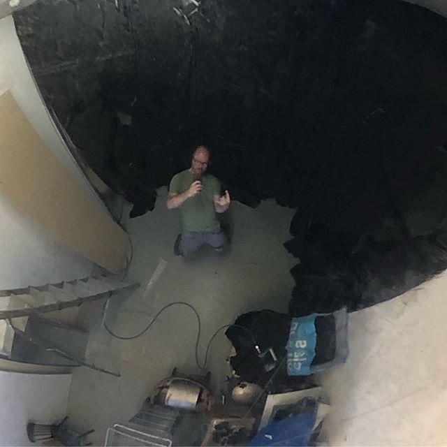 Rebuilding the blackbox #backinblack #studioview #wip #workinprogress #3dscanning #depthkit #volumetricvideo #thickfilm