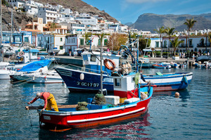 The Harbour of Puerto de Mogan
