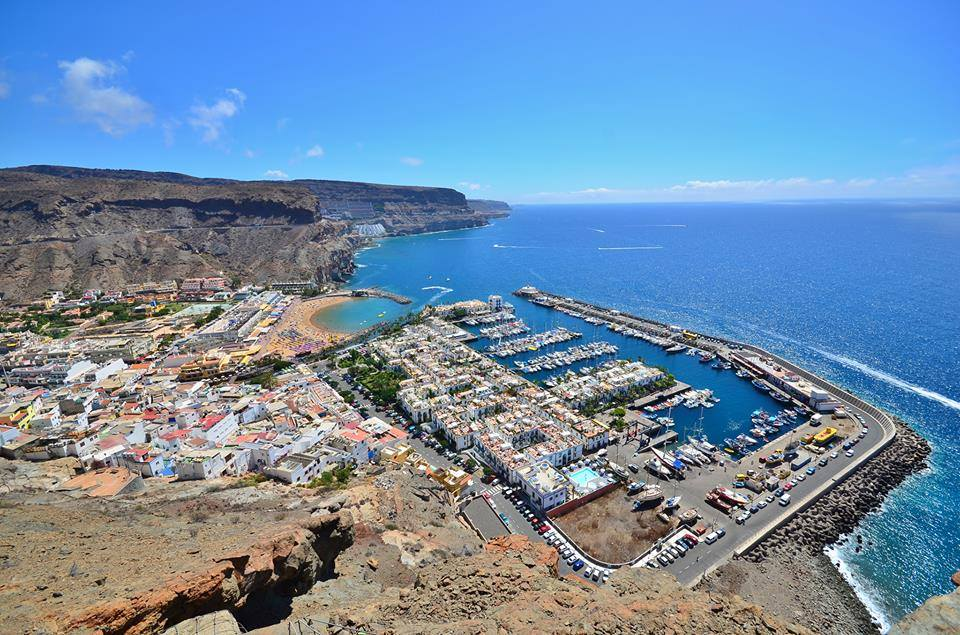 Puerto de Mogan from above - Gran Canaria