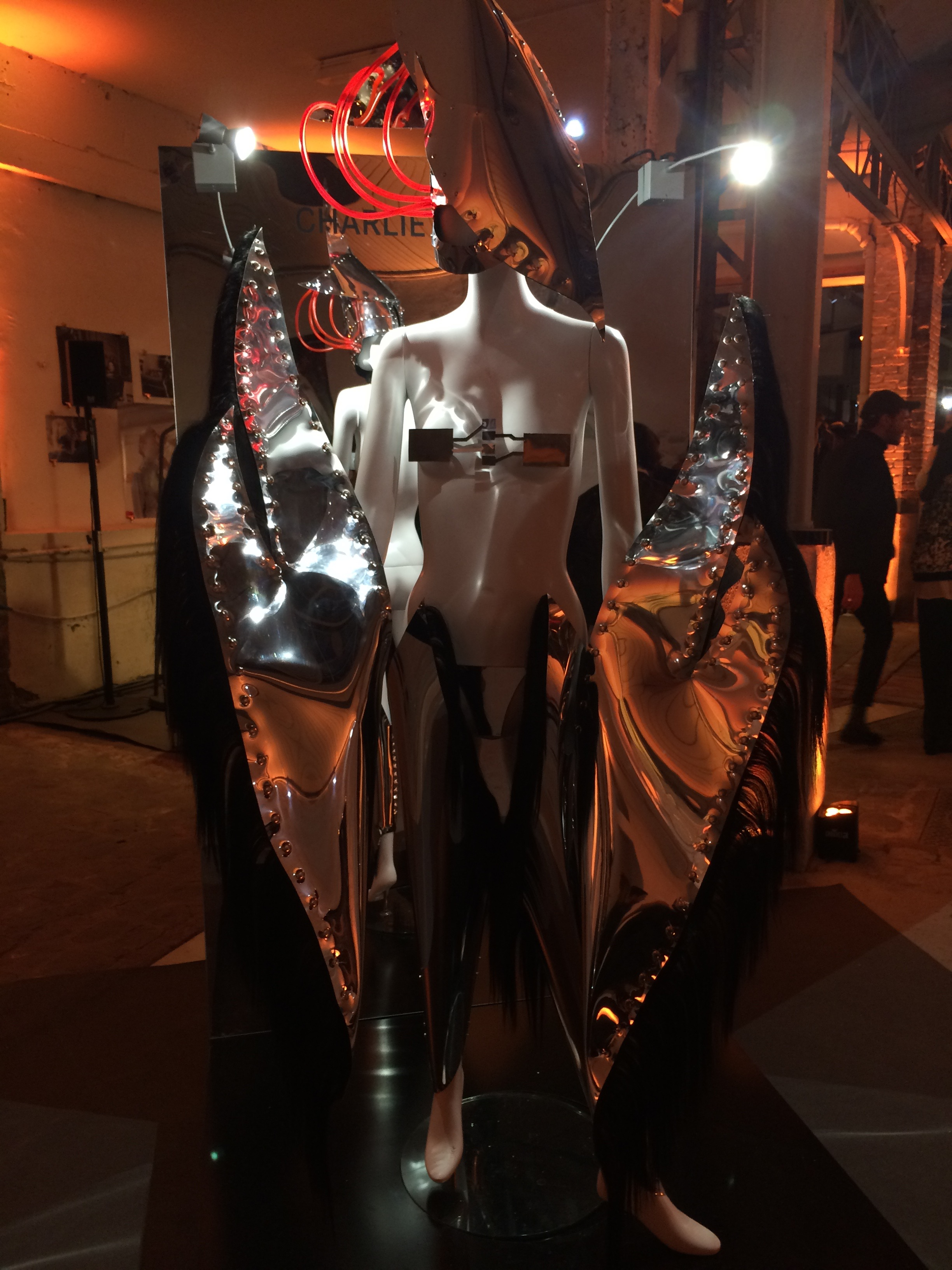Charlie Le Mindu featured at Les Etoiles, Mercedez-Benz & Alexis Mabille cocktail party