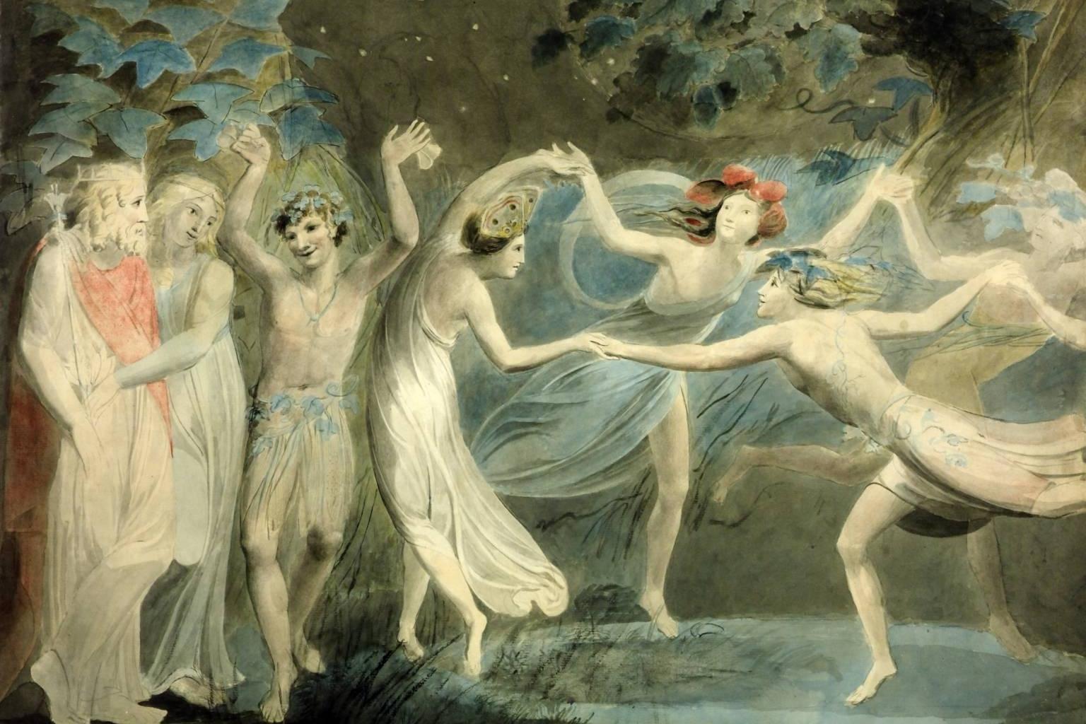 Oberon, Titania and Puck