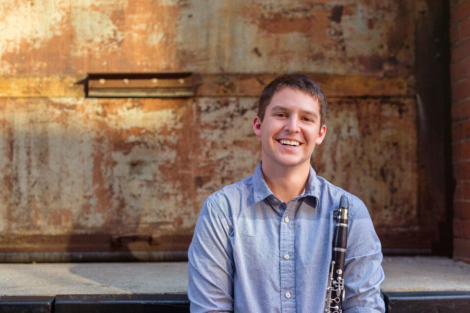 Nicholas Brown, Principal Clarinet