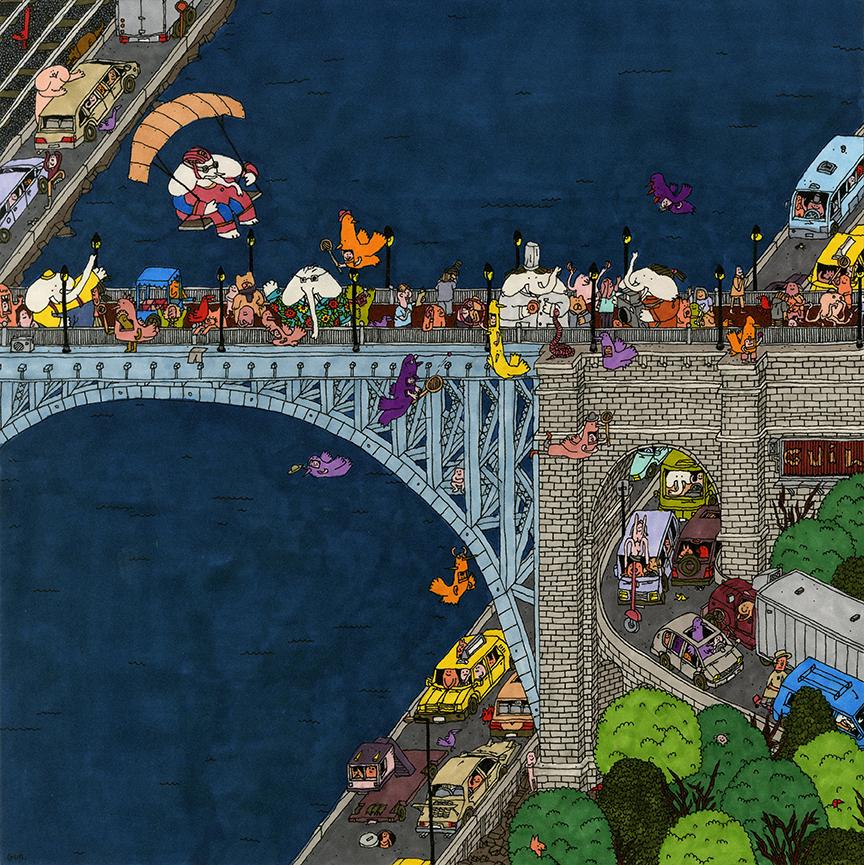 GC098_The High Bridge_200X200mm_sm.jpg