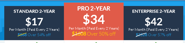 Leadpages Pricing if Paid 2-Years of Front