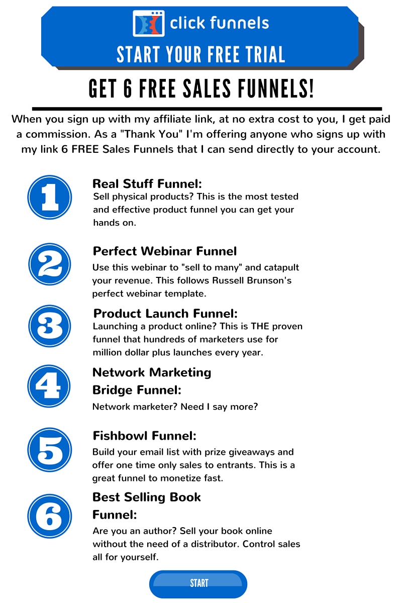 Sign Up Here For Your Free ClickFunnels Trial