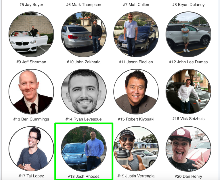 Honored to be placed with some of the top marketers in the industry!!!     https://whatsyourdreamcar.com
