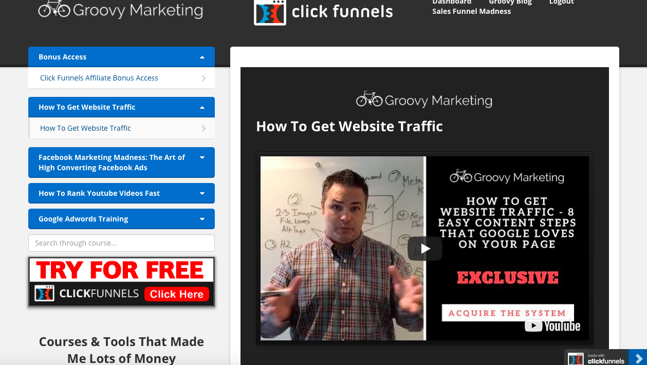 The Basic Principles Of Clickfunnels Membership Site