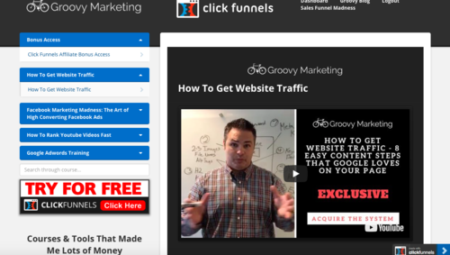 Getting The Clickfunnels Membership Site To Work