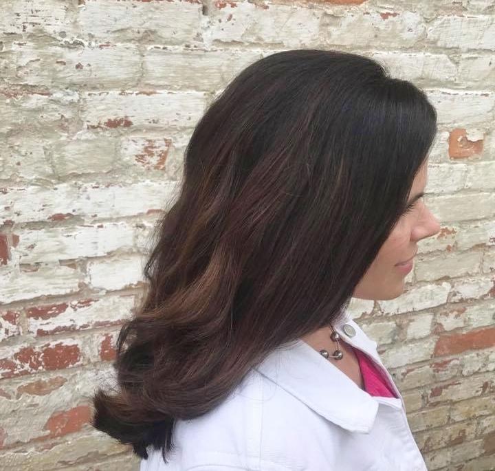 After cut & color