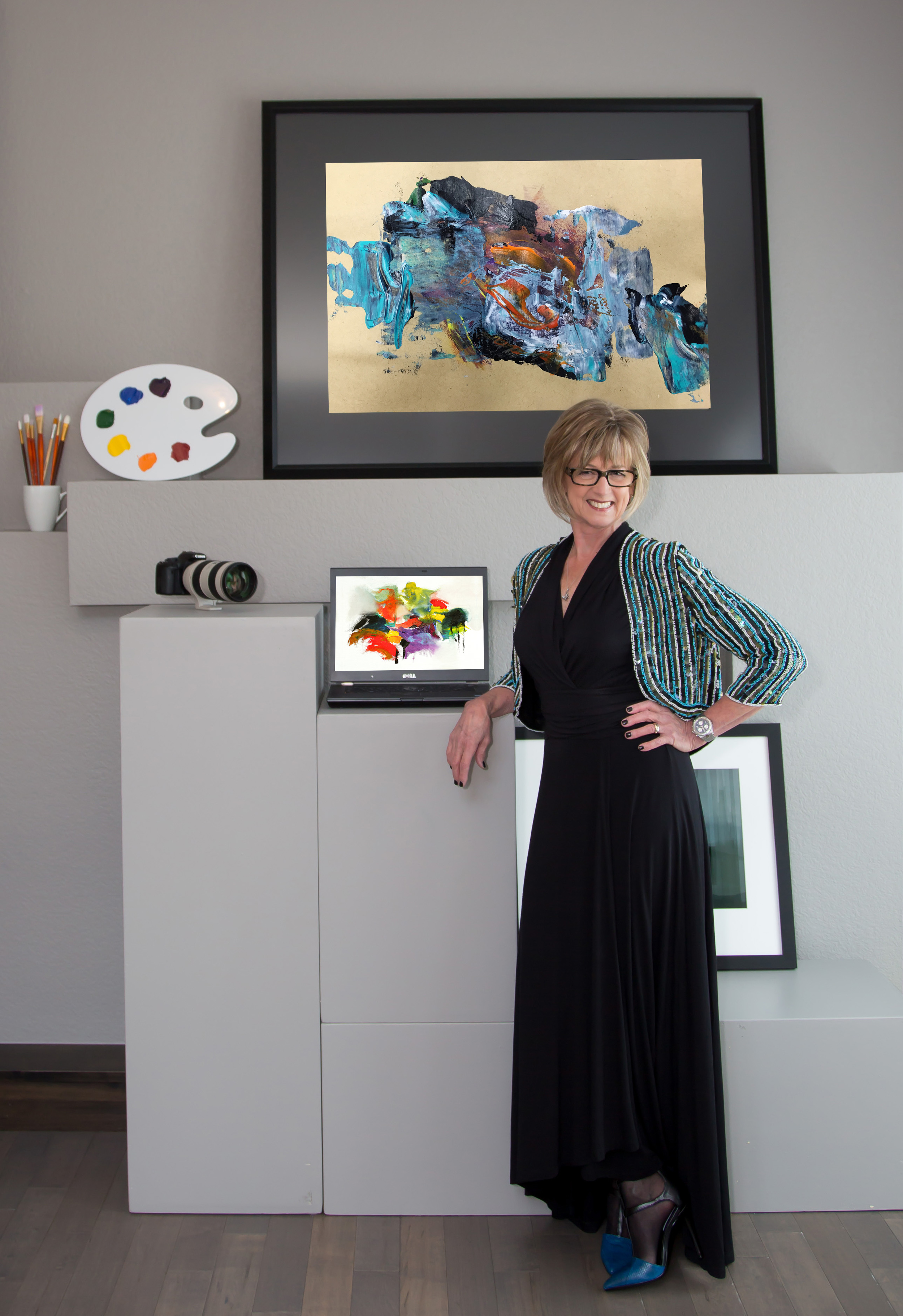"""Kathy Skarvan   Contemporary Fusion Art   As an artist, I am driven by eye appeal. I have a passion for people, gain energy from my environment and am motivated by the emotional reward I receive when others appreciate my work.I am often asked, """"What is fusion art?"""" Quite simply, it iswhen multidisciplinary art mediums converge into stunning composites. For me it is where the camera meets technology and other modes of creative expression.   Visit Artist's Website"""