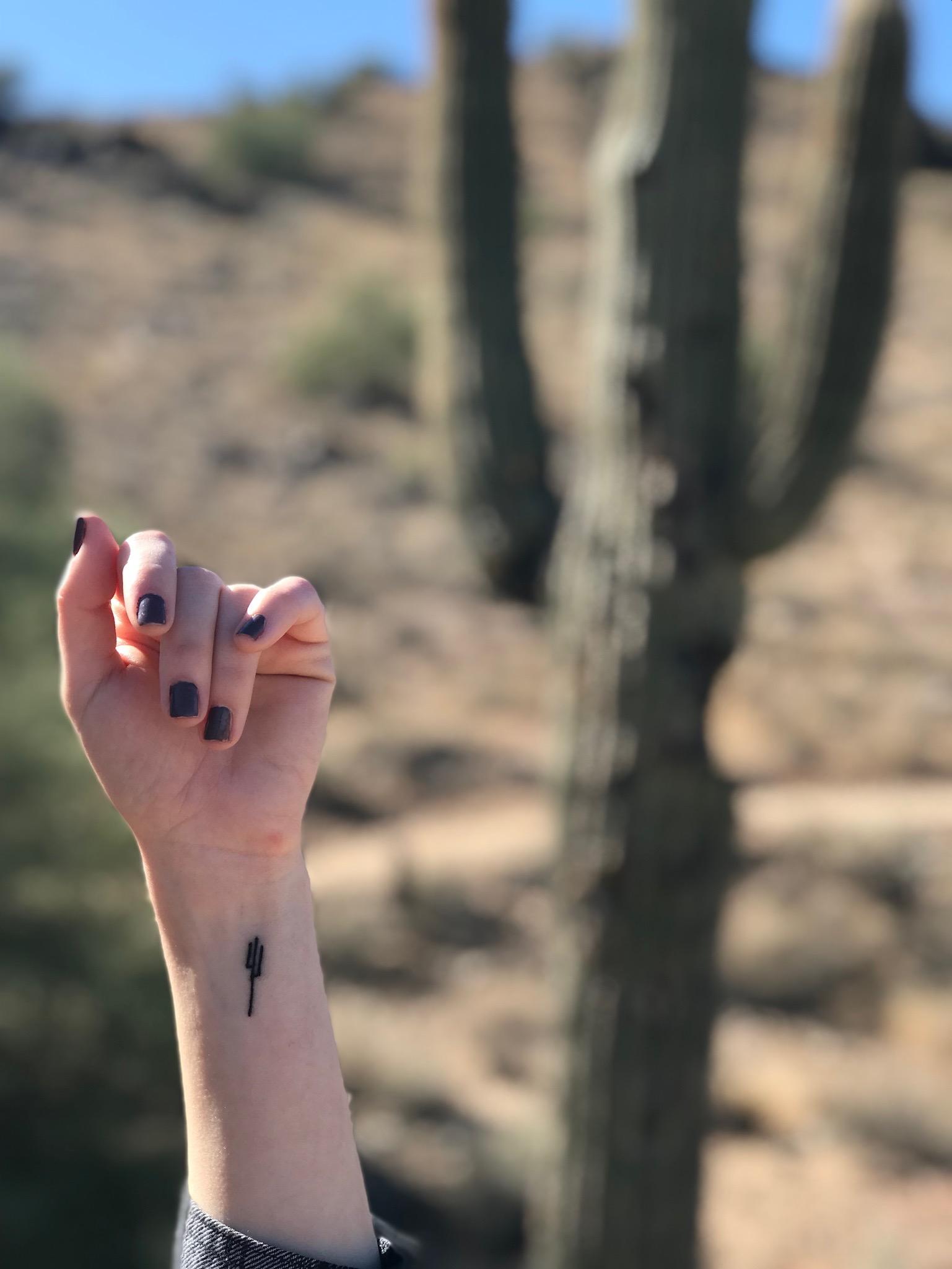 PHOENIX Tattoo in front of Cactus.JPG