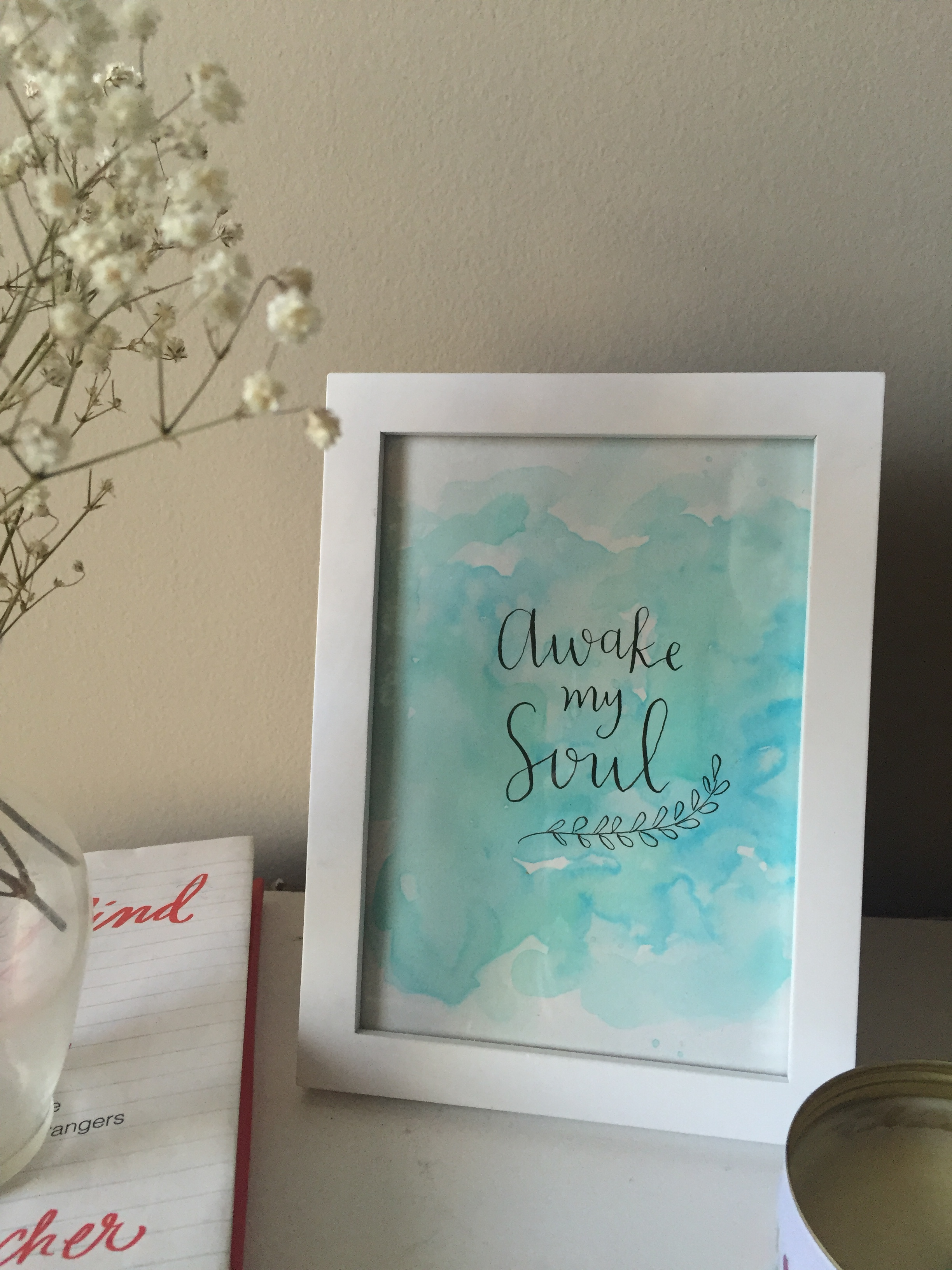 """Support our Kickstarter by purchasing this """"Awake My Soul"""" downloadable print!"""