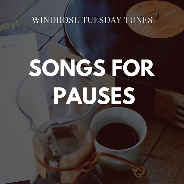"We've got some tunes to wind down your Tuesday 🎵 // ""These songs are for finding more of those moments of pause—when the routine halts and all that remains are slow dances in the kitchen, mugs of tea, your fresh-made bed after a weekend of travel. For rainstorms passing, for long days within short years, when time for once isn't moving too fast. For the spaces where frenzy stops, feelings find home, and we  stop to take them in."" // Find @missmelis115's latest reflection + playlist at WindroseMagazine.com ✨"