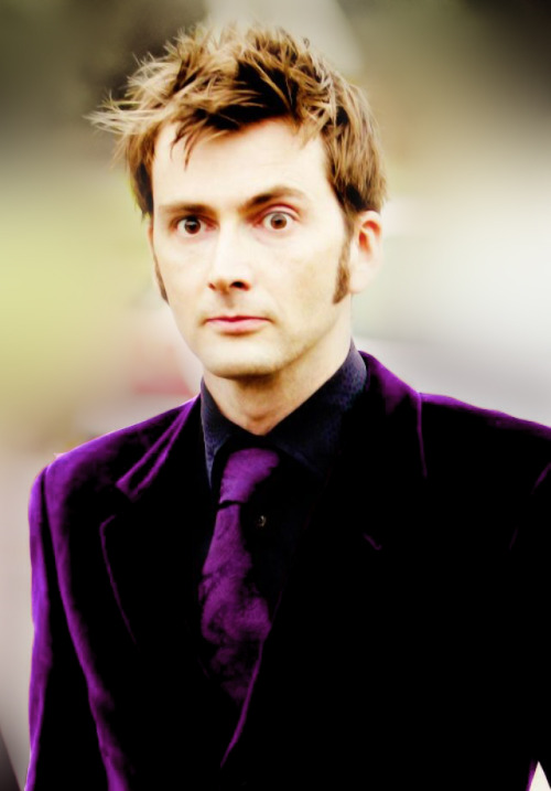 The purple suit is always the mark of a madman.